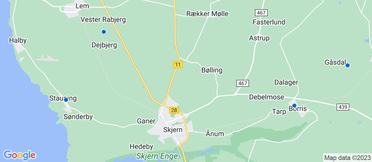 cateringfirmaer i Skjern