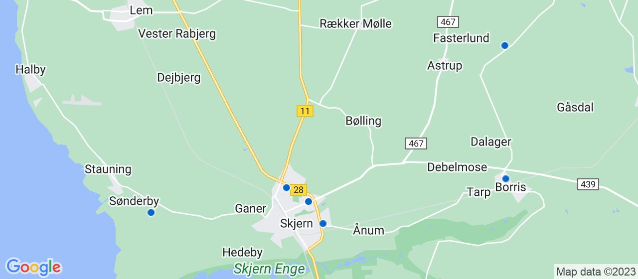 elektrikerfirmaer i Skjern