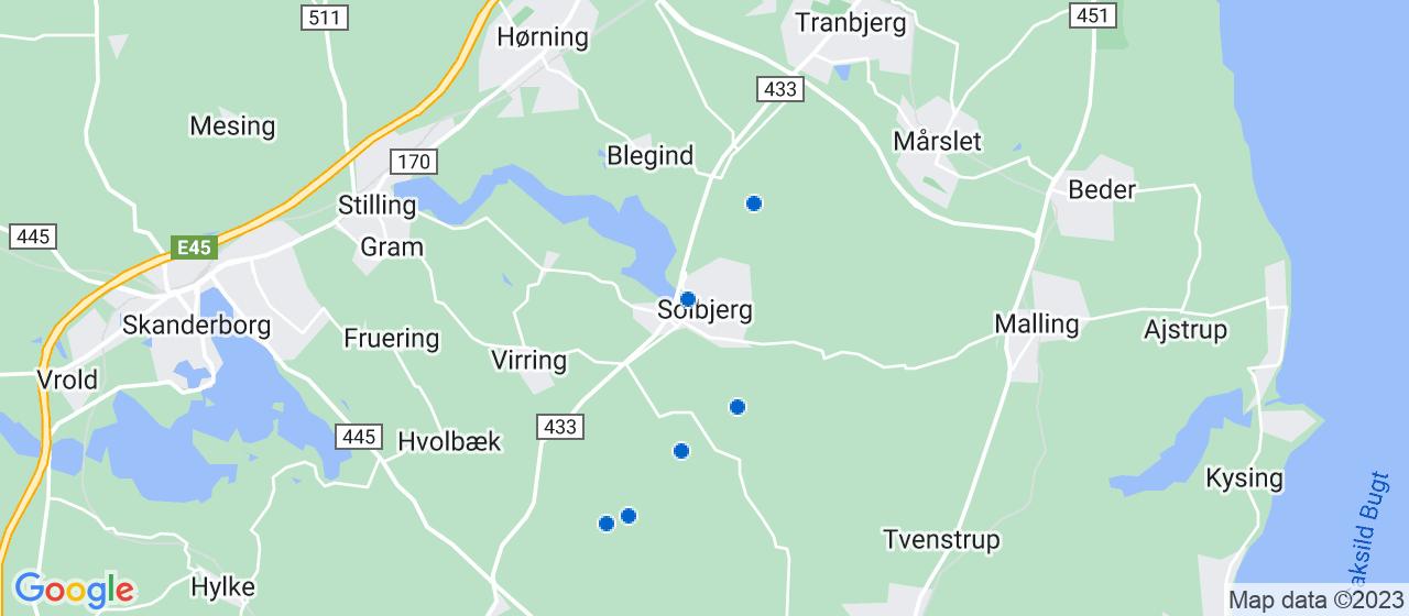 murerfirmaer i Solbjerg