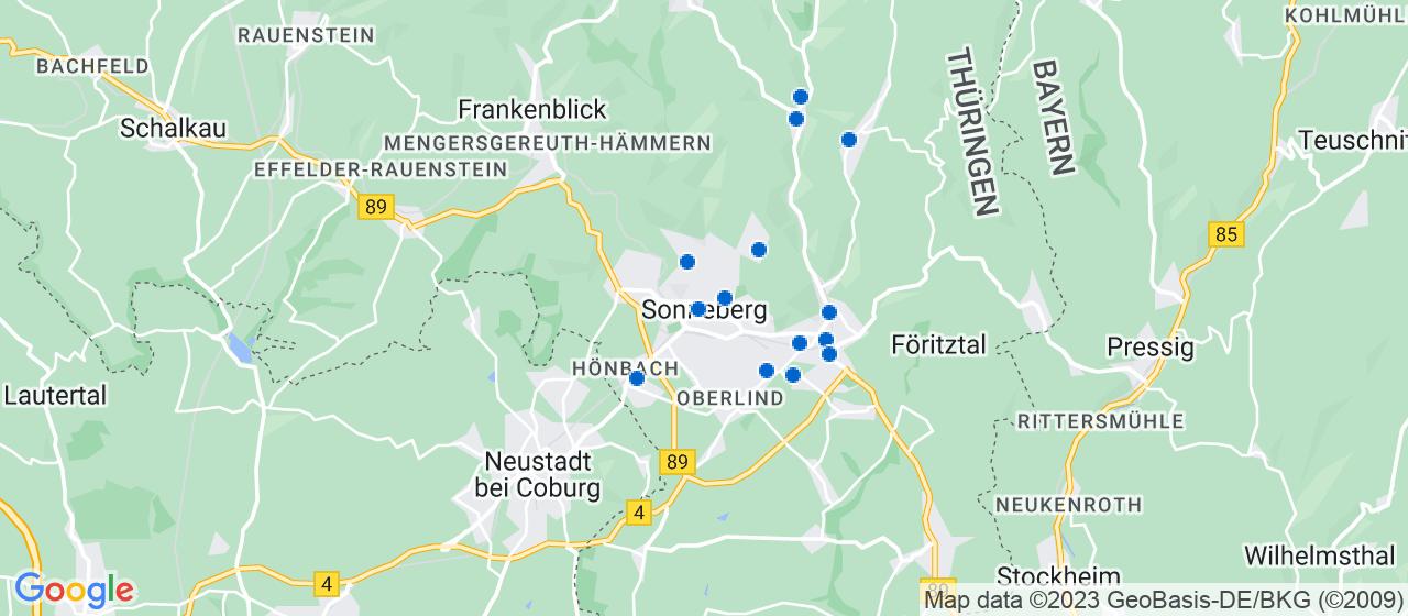 Umzugsunternehmen i Sonneberg