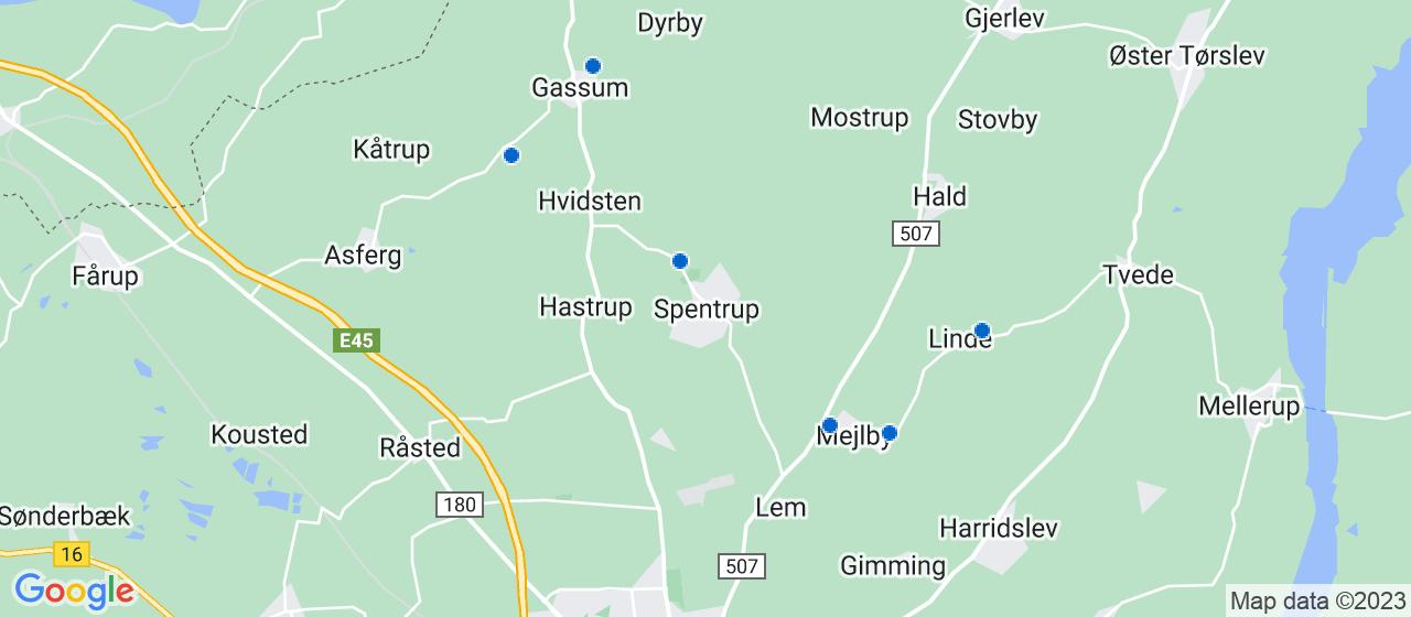 elektrikerfirmaer i Spentrup