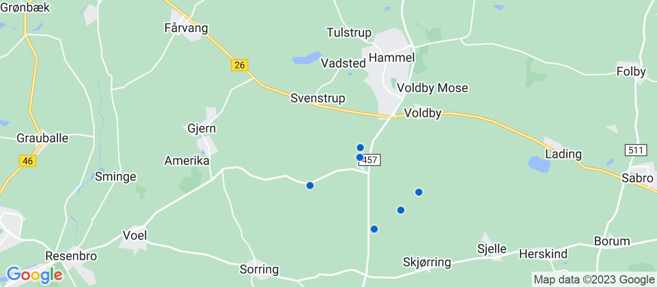 byggefirmaer i Sporup