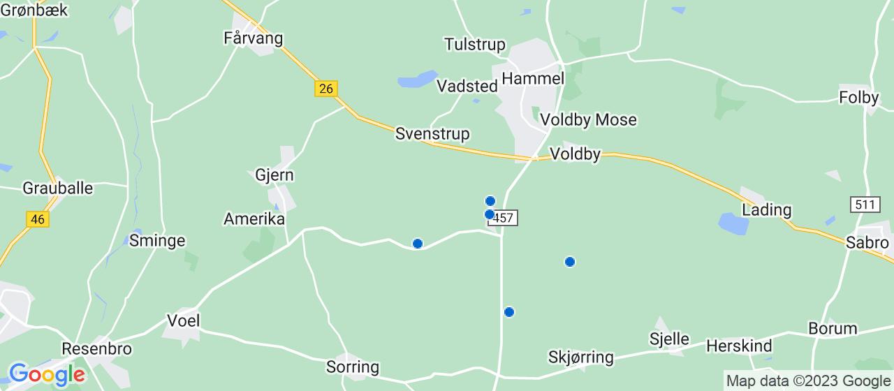 entreprisefirmaer i Sporup