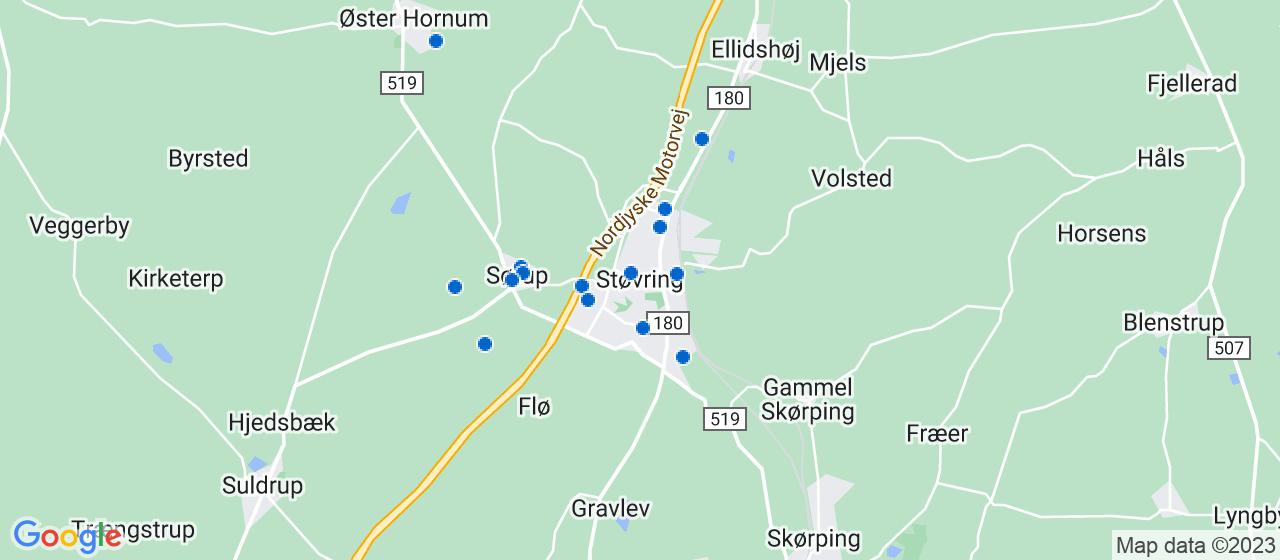 håndværkerfirmaer i Støvring