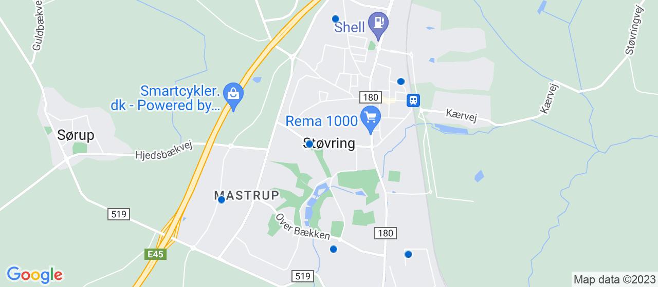 elektrikerfirmaer i Støvring