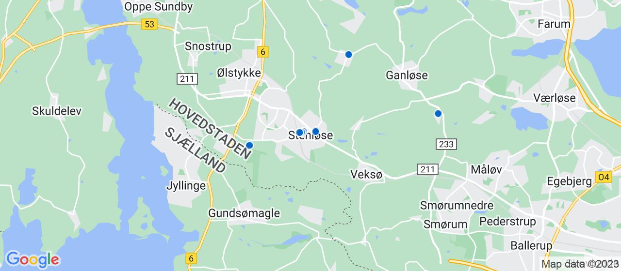 ejendomsmæglerfirmaer i Stenløse