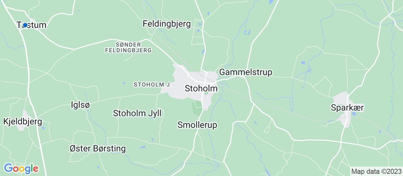 glarmesterfirmaer i Stoholm