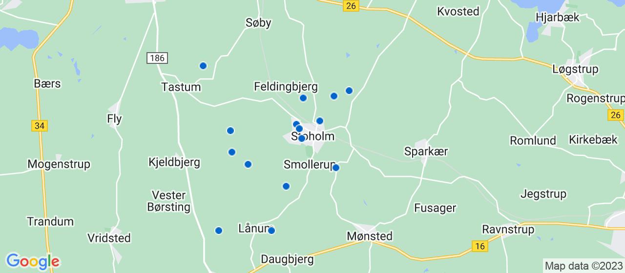 byggefirmaer i Stoholm