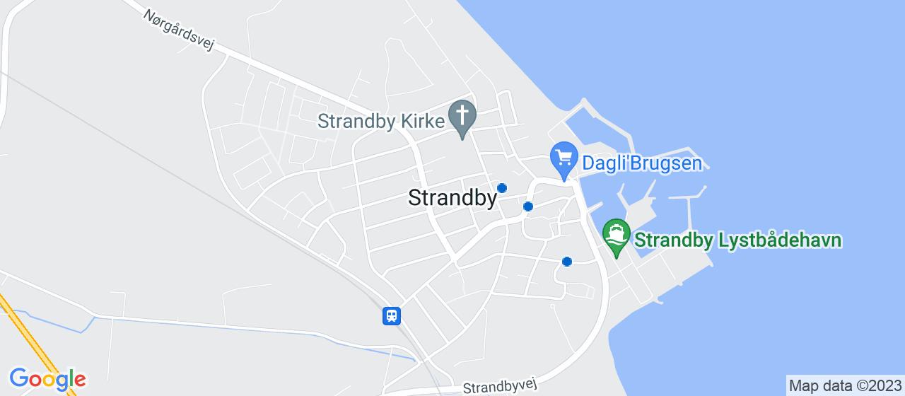 elektrikerfirmaer i Strandby