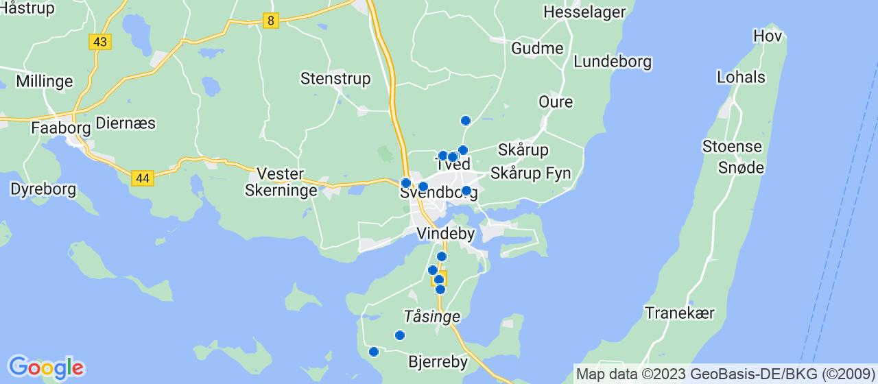 anlægsgartnerfirmaer i Svendborg