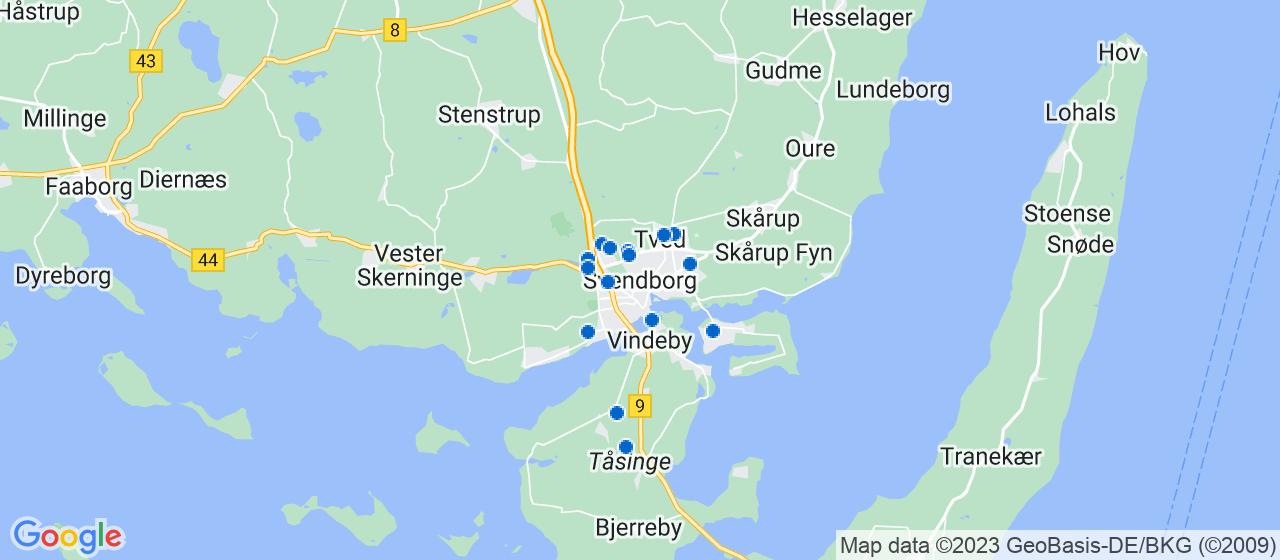 vvsfirmaer i Svendborg