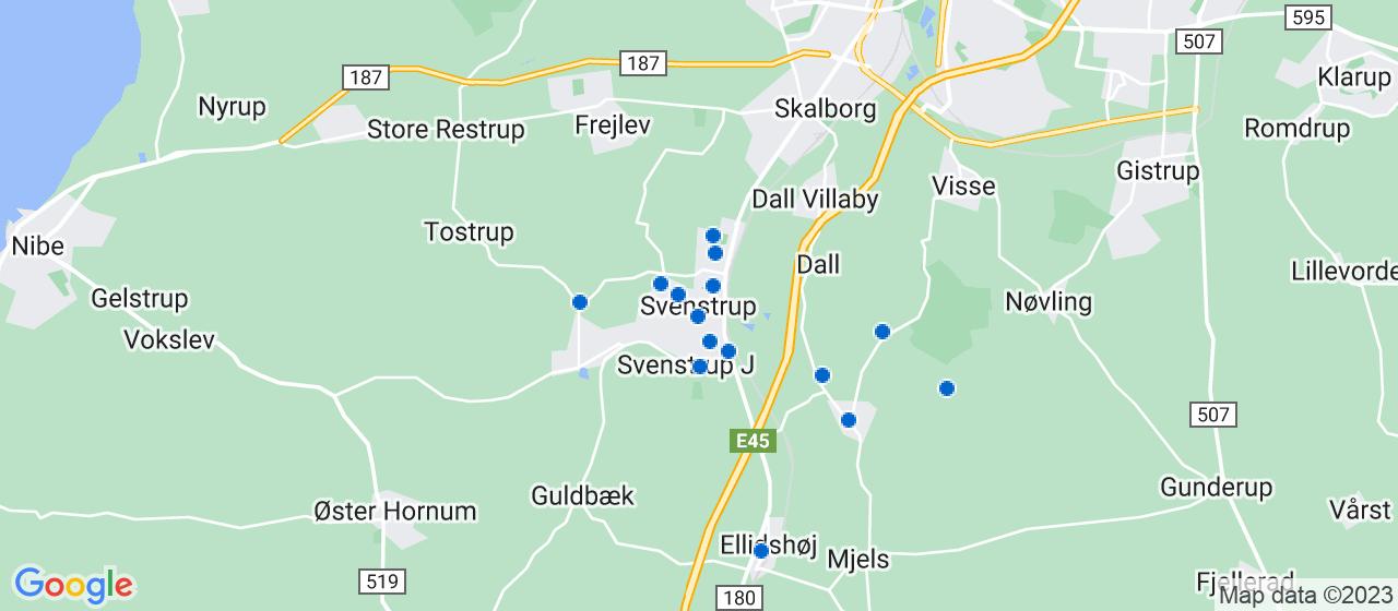 håndværkerfirmaer i Svenstrup