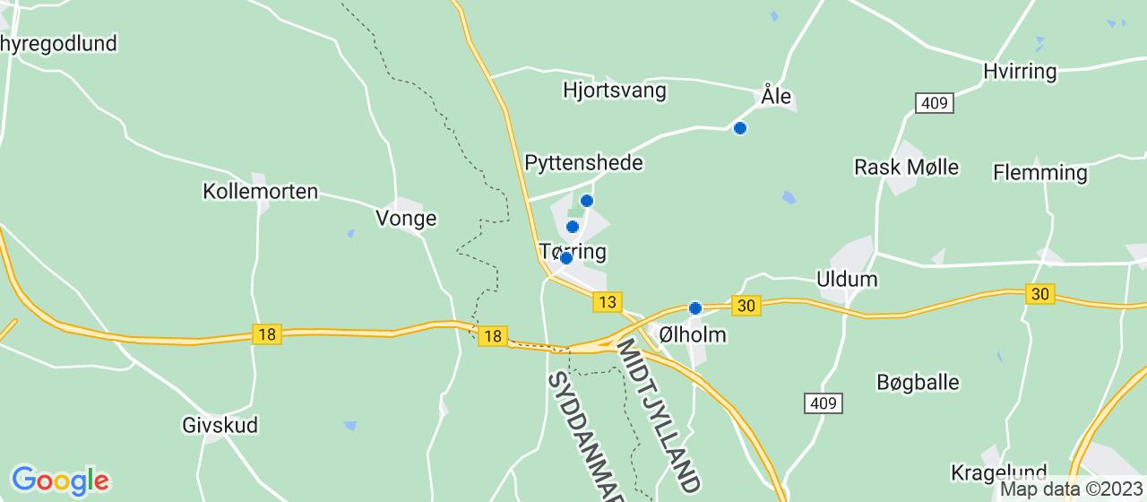 elektrikerfirmaer i Tørring