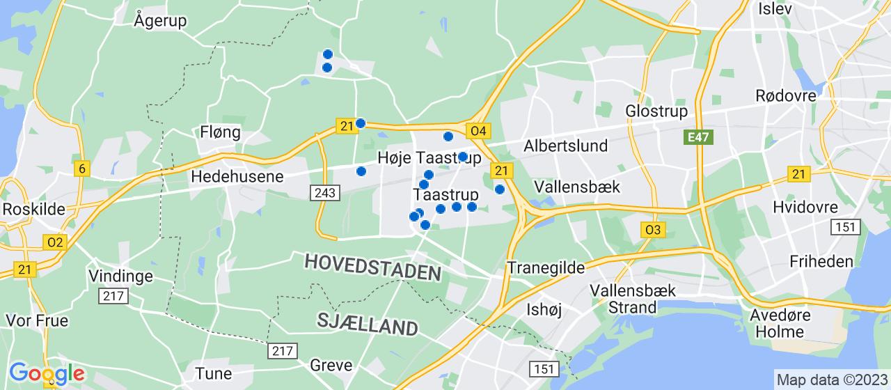 håndværkerfirmaer i Taastrup
