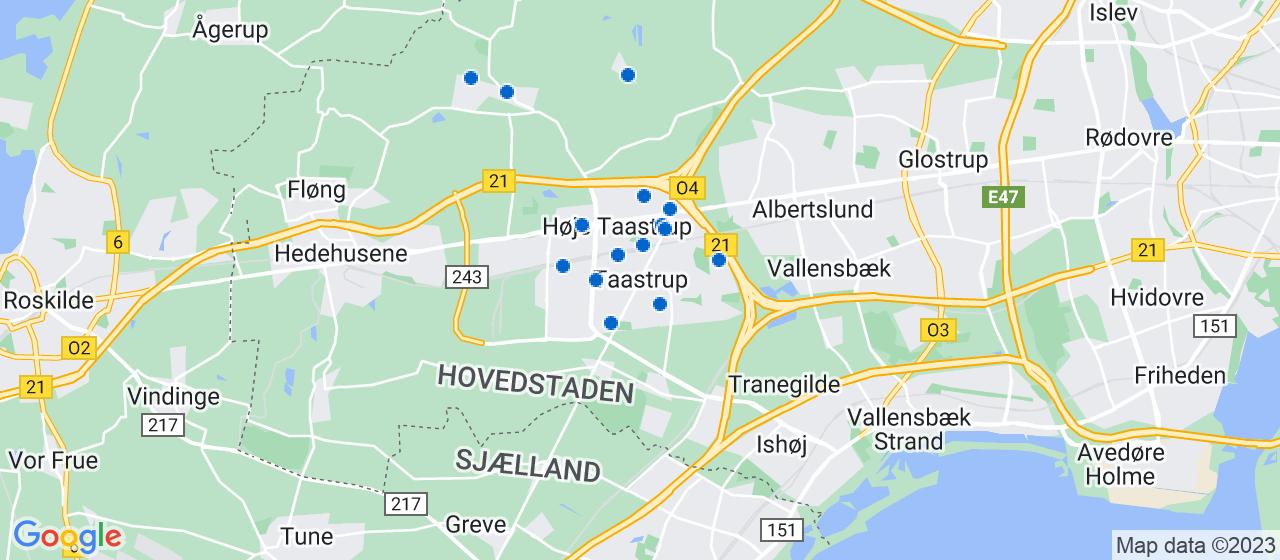 varmepumpe firmaer i Taastrup