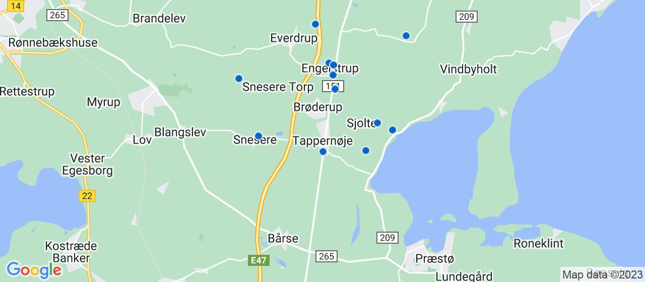 anlægsgartnerfirmaer i Tappernøje
