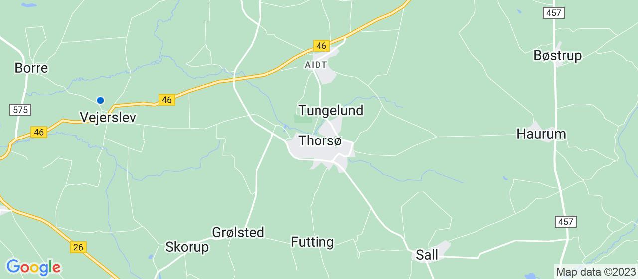 kloakfirmaer i Thorsø