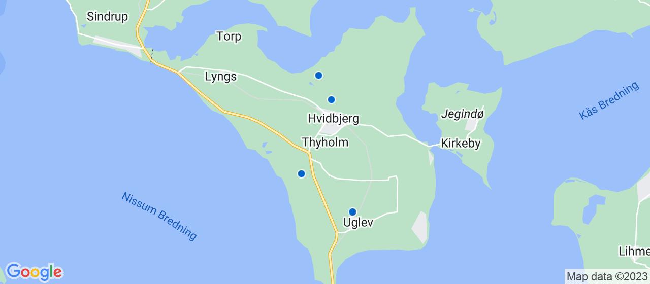anlægsgartnerfirmaer i Thyholm
