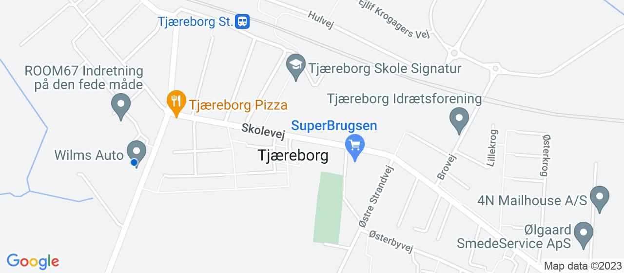 mekaniker firmaer i Tjæreborg
