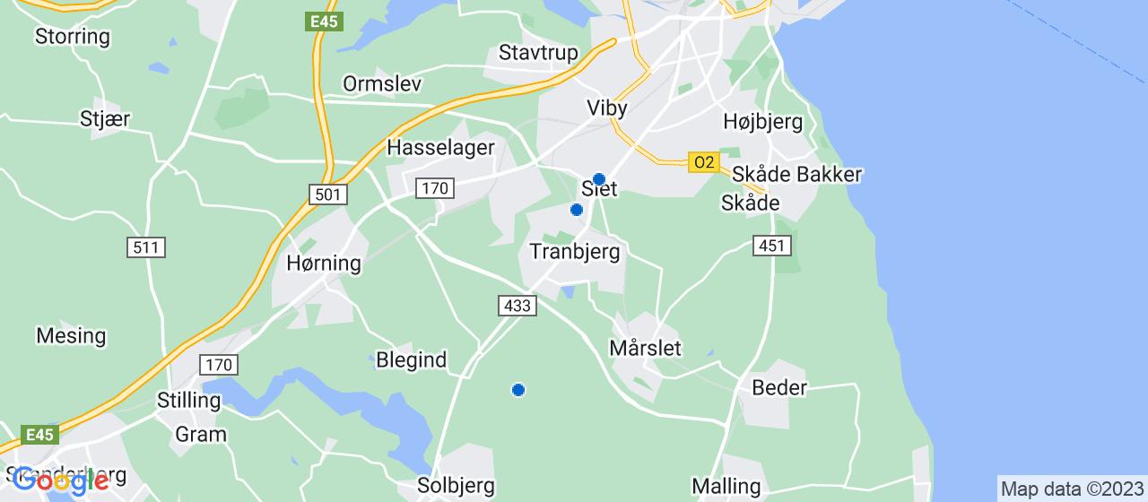 arkitektfirmaer i Tranbjerg