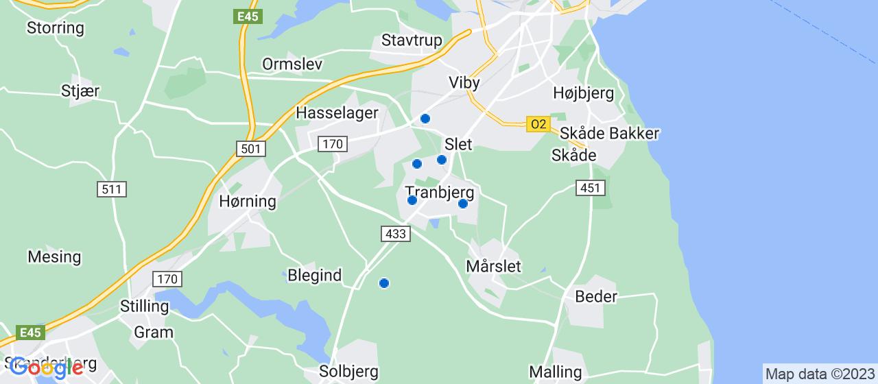 håndværkerfirmaer i Tranbjerg