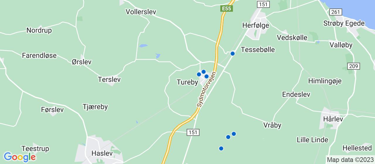 håndværkerfirmaer i Tureby