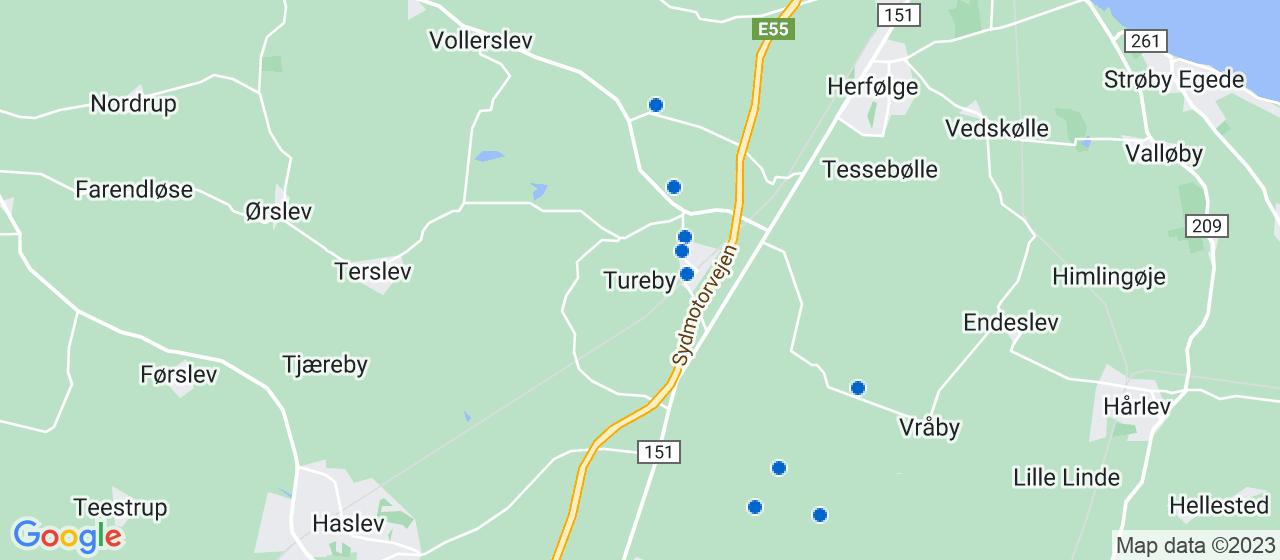 tømrerfirmaer i Tureby