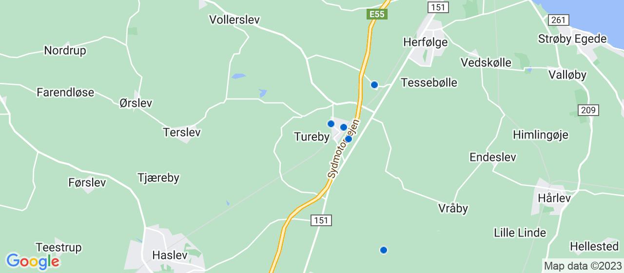 murerfirmaer i Tureby