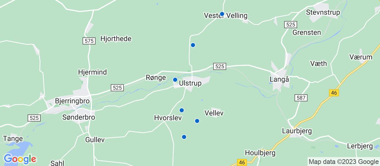 håndværkerfirmaer i Ulstrup