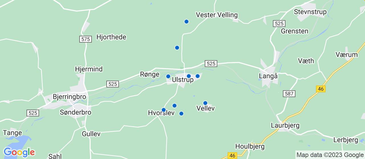 byggefirmaer i Ulstrup