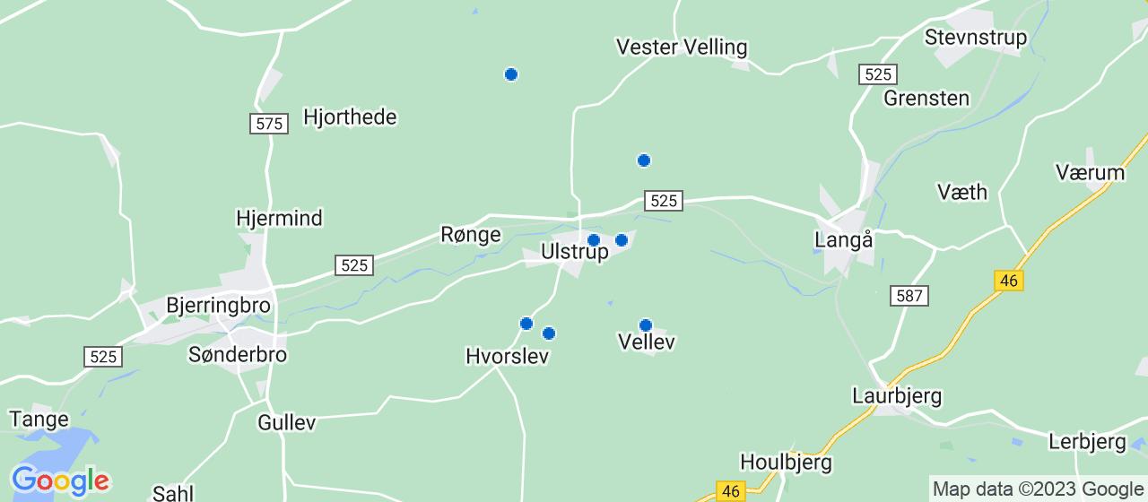 entreprisefirmaer i Ulstrup