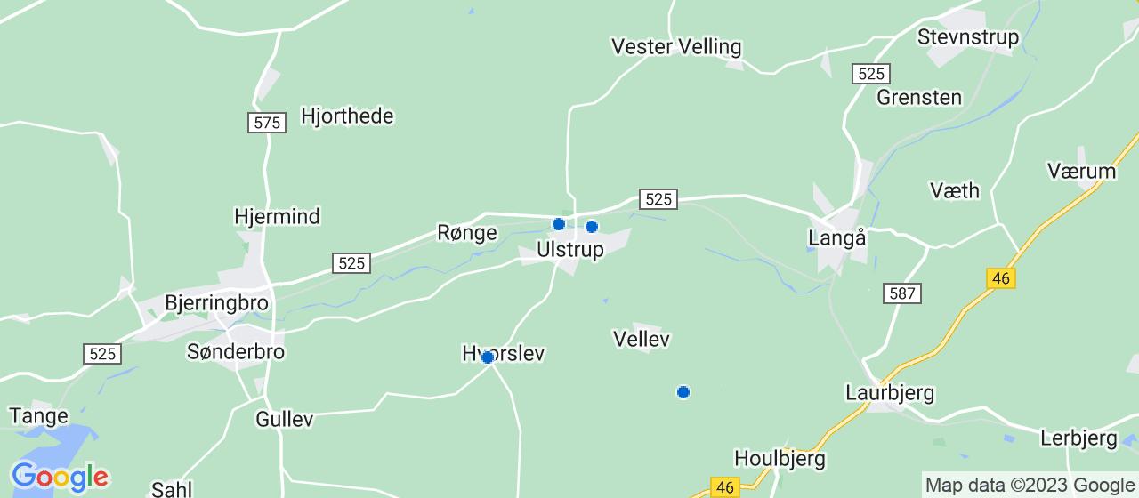 vvsfirmaer i Ulstrup