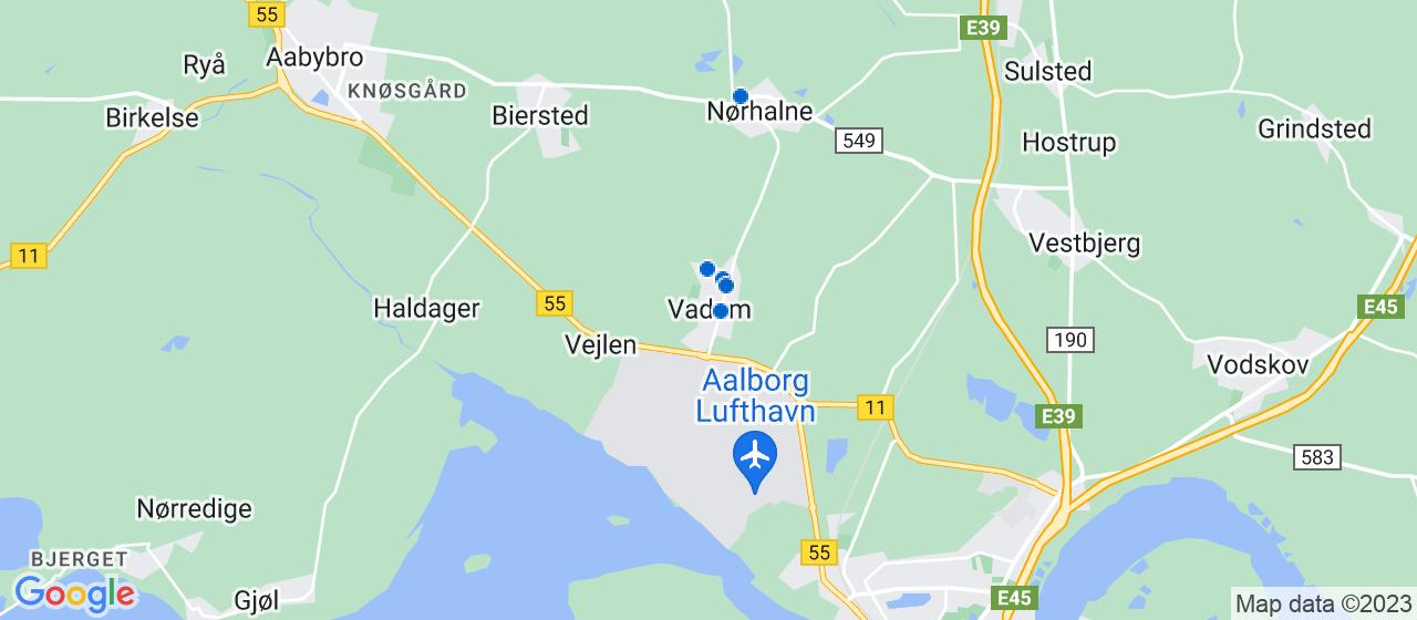 sandblæsning firmaer i Vadum