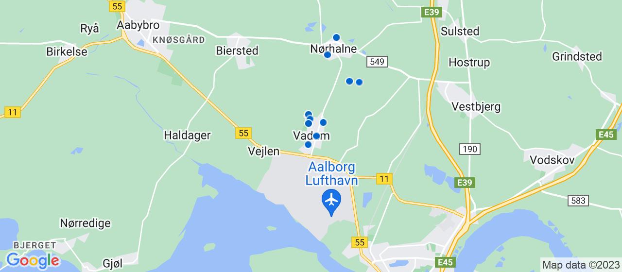 byggefirmaer i Vadum