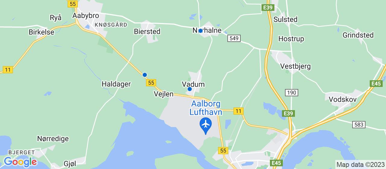 varmepumpe firmaer i Vadum