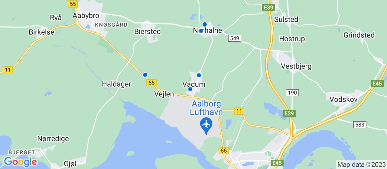 elektrikerfirmaer i Vadum