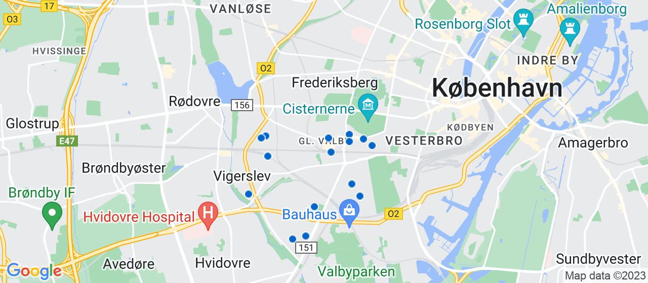 tømrerfirmaer i Valby
