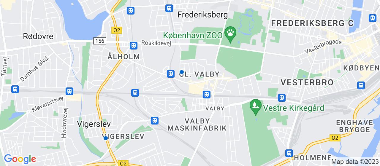 flyttefirmaer i Valby