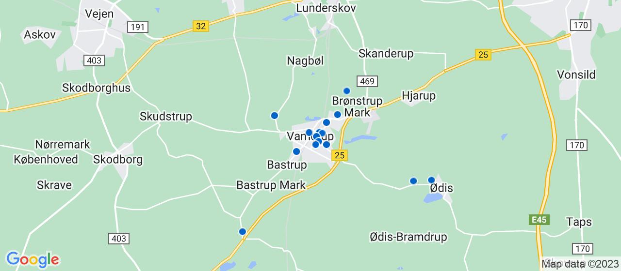 mekaniker firmaer i Vamdrup