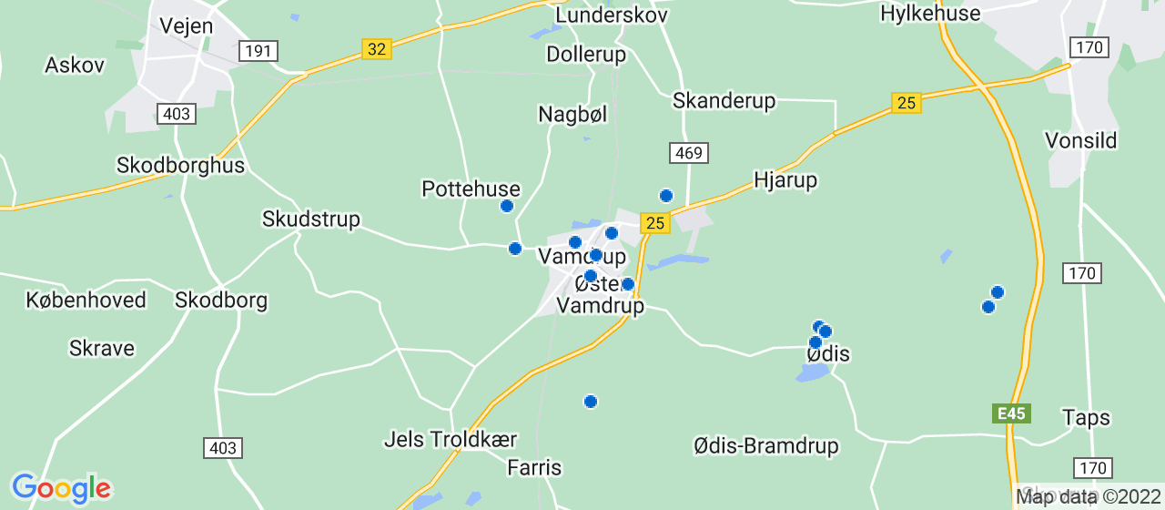 byggefirmaer i Vamdrup