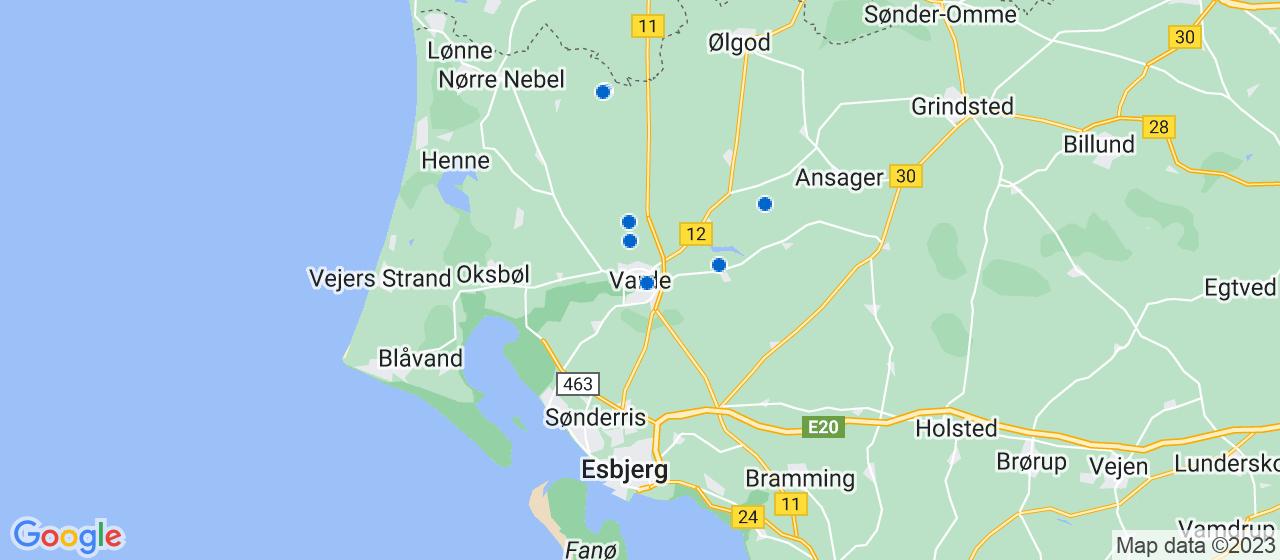 VVS firmaer i Varde
