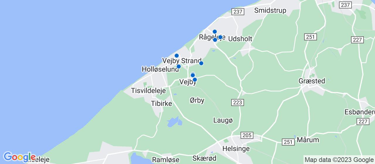 håndværkerfirmaer i Vejby