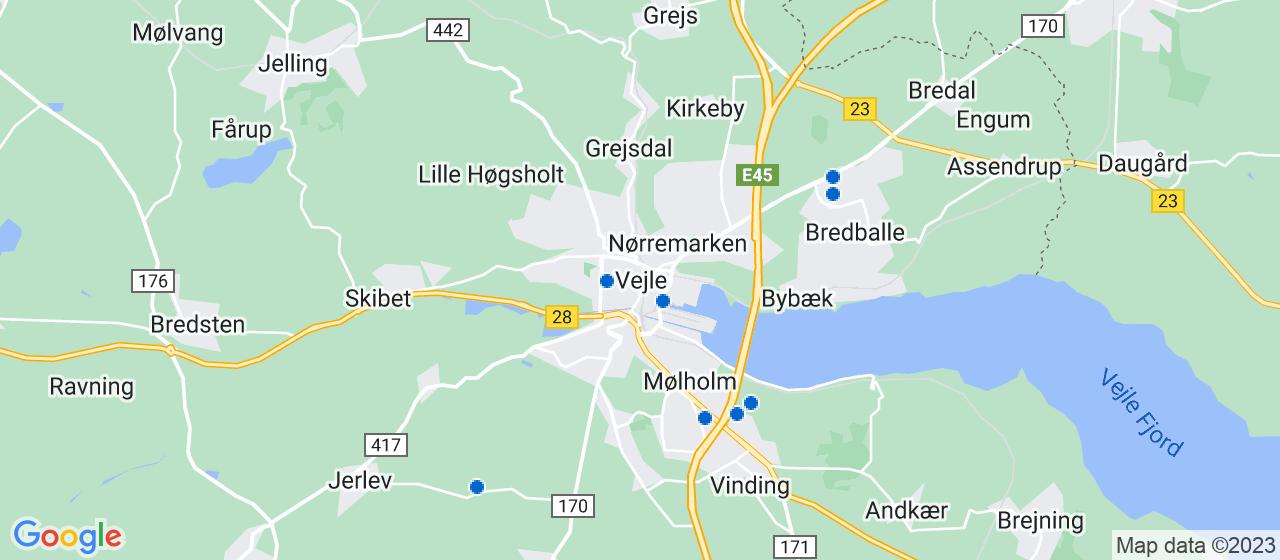 VVS firmaer i Vejle