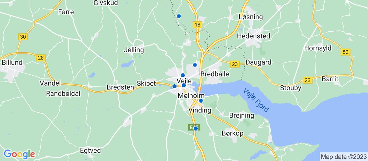 glarmesterfirmaer i Vejle