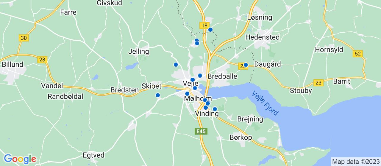 håndværkerfirmaer i Vejle