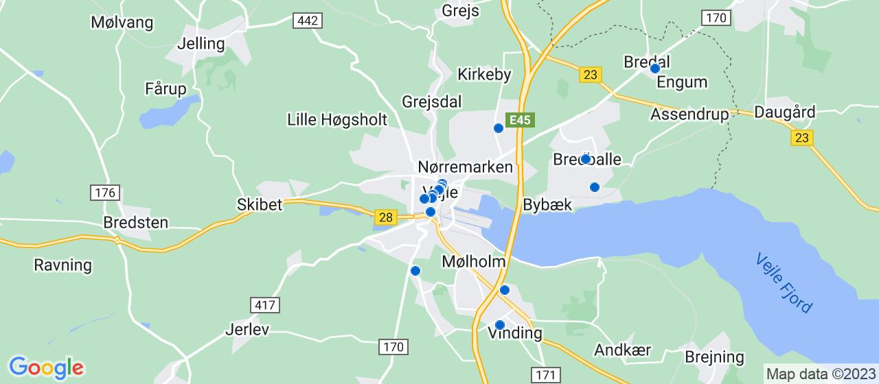 ejendomsmæglerfirmaer i Vejle