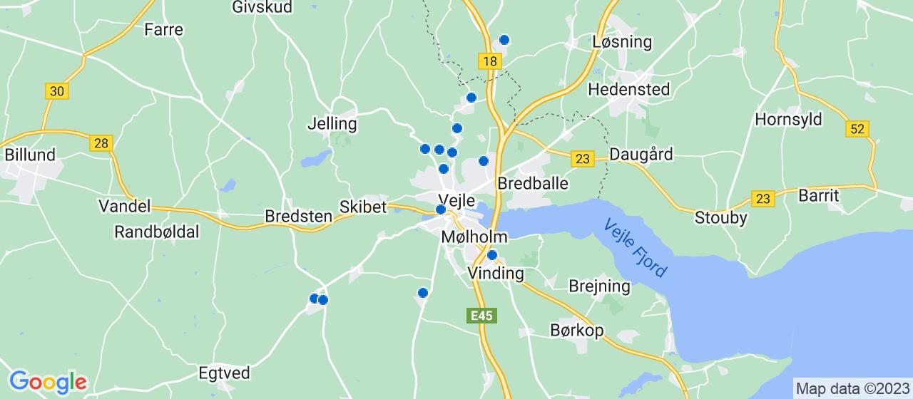 murerfirmaer i Vejle