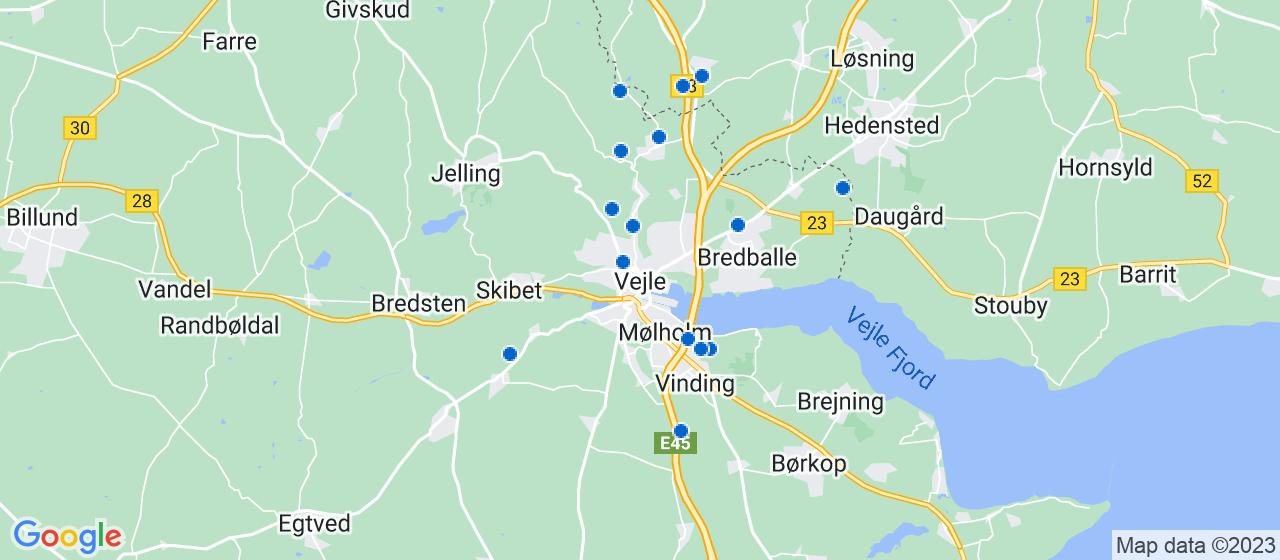 anlægsgartnerfirmaer i Vejle