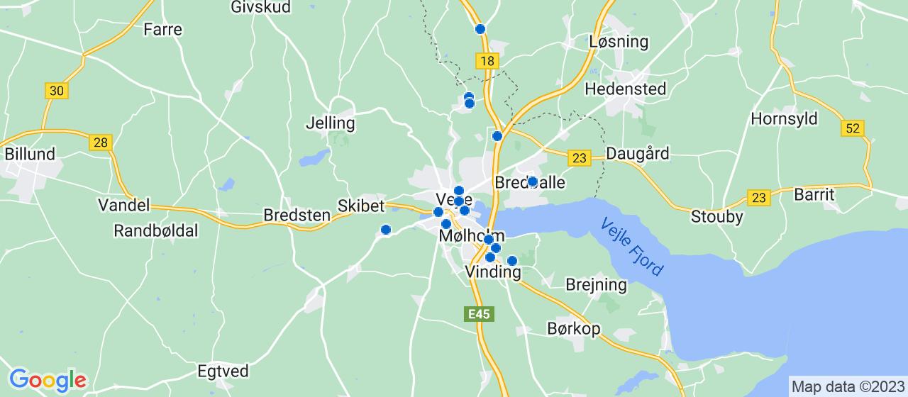 entreprisefirmaer i Vejle