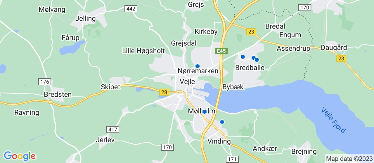 gulvafslibning firmaer i Vejle